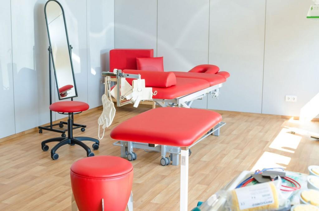 Behandlungsraum Krankengymnastik-kassel