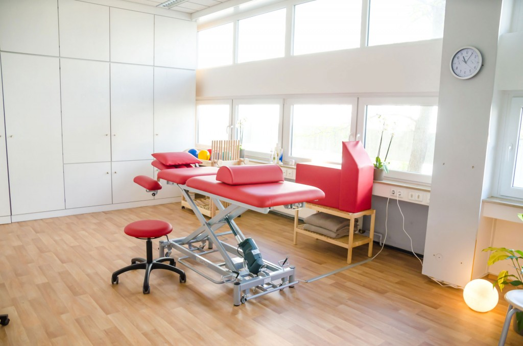 behandlungszimmer Krankengymnastik Kassel