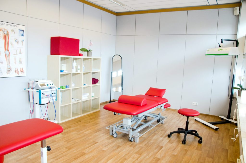 Behandlungszimmer Physiotherapie Kassel